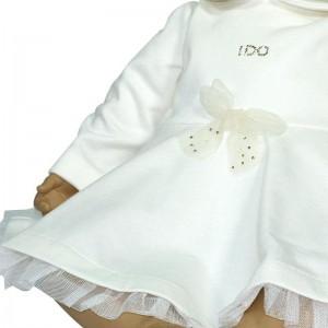 Vestido Crema  Ropa Bebé - La Cesta Mágica