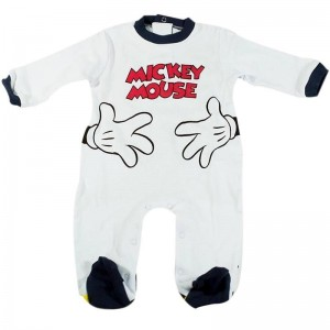 Pelele Mickey  Ropa Bebé - La Cesta Mágica
