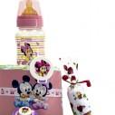 Tarta de Pañales Disney Rosa