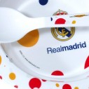 Plato con Cuchara Real Madrid