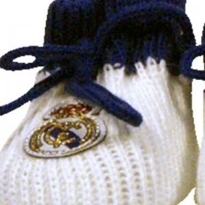 Patucos Real Madrid  Ropa Bebé - La Cesta Mágica