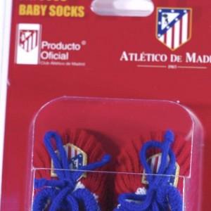 Patucos Atlético de Madrid  Ropa Bebé - La Cesta Mágica