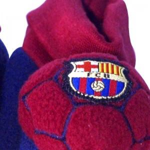 Patucos F. Club Barcelona Antideslizantes  Ropa Bebé - La Cesta Mágica