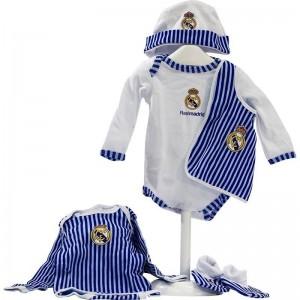 Conjunto Recién Nacido Real Madrid  Ropa Bebé - La Cesta Mágica