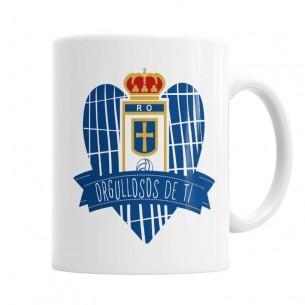 Taza del Real Oviedo Orgullosos de Ti