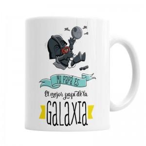 Taza El mejor Papá de la Galaxia Star Wars  Tazas - La Cesta Mágica