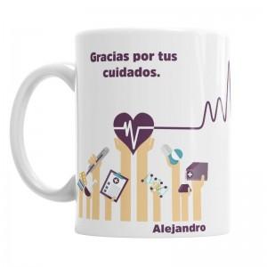 Taza Para la Mejor Enfermera I  Tazas Originales - La Cesta Mágica