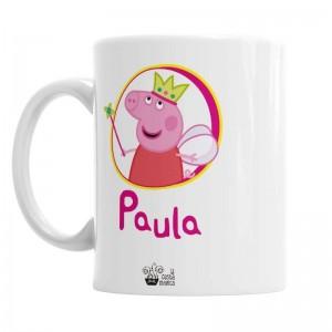 Taza Peppa Pig  Tazas Originales - La Cesta Mágica