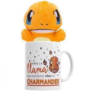 Pokémon Set Charmander  Otros Regalos - La Cesta Mágica