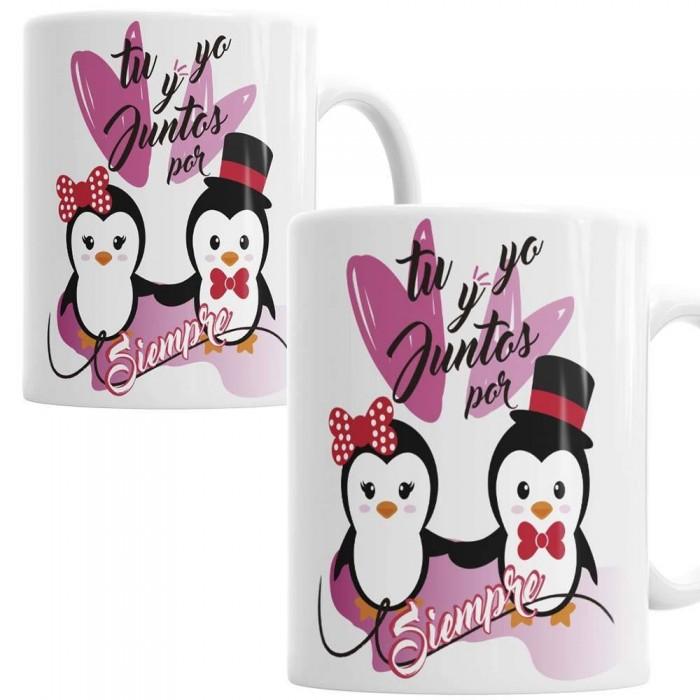 Tazas Amor Pinguino - Pack