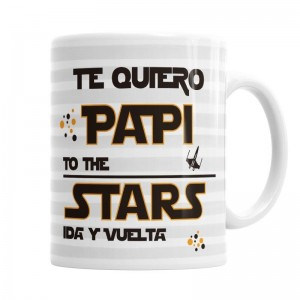 Taza Papi Te Quiero  Tazas - La Cesta Mágica