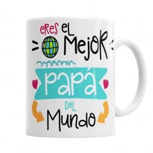 Taza Papá eres el mejor del Mundo