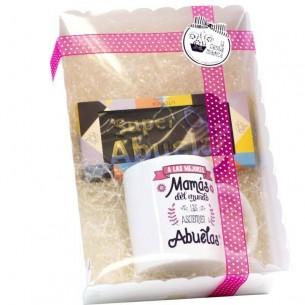 Pack Regalo Abuela Personalizado
