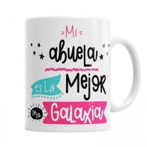Taza mejor abuela de la Galaxia  Tazas Originales - La Cesta Mágica