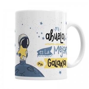 Taza Mi abuela La mejor de La Galaxia  Tazas Originales - La Cesta Mágica