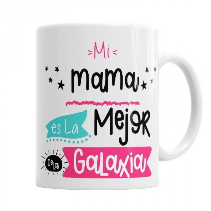 Taza La mejor Mamá de la Galaxia  Tazas Originales - La Cesta Mágica