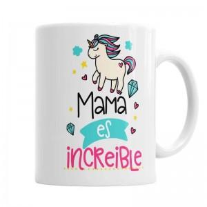 Taza mamá increíble  Tazas Originales - La Cesta Mágica