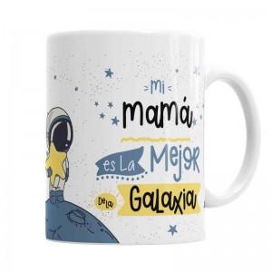 Taza Mamá La Mejor de la Galaxia  Tazas - La Cesta Mágica