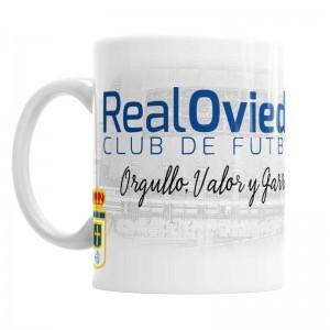 Taza Real Oviedo Club de Fútbol  Tazas Originales - La Cesta Mágica