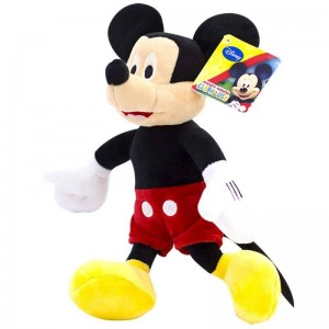 Peluche Mickey Mouse Soft 28cm  Peluches y Mas - La Cesta Mágica