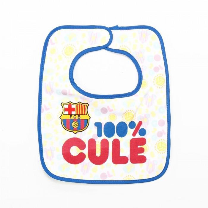 Babero F. Club Barcelona 100% Culé  Alimentacion y Lactancia - La Cesta Mágica