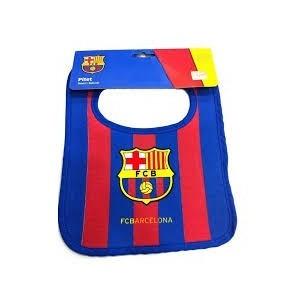 Babero F. Club Barcelona Rayas
