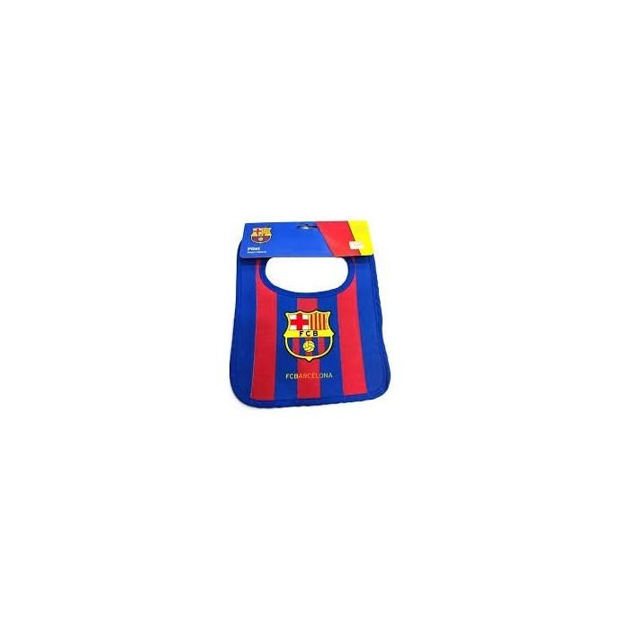 Babero F. Club Barcelona Rayas  Alimentacion y Lactancia - La Cesta Mágica