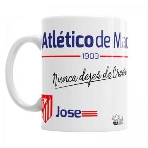 Taza Atlético de Madrid  Tazas - La Cesta Mágica