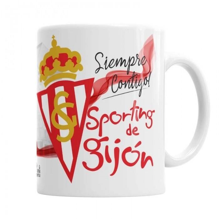 Taza Sporting de Gijón  Tazas Originales - La Cesta Mágica