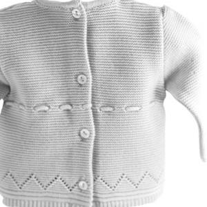 Canastilla para bebé Deluxe Gris Unisex  Canastillas para bebes - La Cesta Mágica