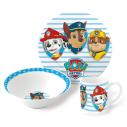 Set Desayuno Ceramica Patrulla Canina
