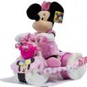 Tarta de Pañales Triciclo Minnie