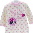 Pelele Tundosado Disney Minnie Rosa