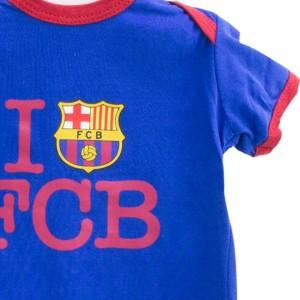 Pack 2 Bodys F. Club Barcelona  Ropa Bebé - La Cesta Mágica