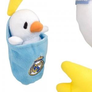 Peluche Real Madrid Cigüeña  Accesorios bebé - La Cesta Mágica