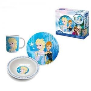 Set Desayuno Ceramica Frozen  Otros Regalos - La Cesta Mágica