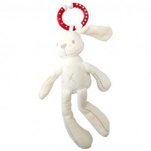 Sonajero de Peluche Conejo