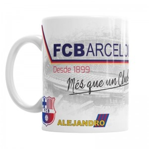Taza Futbol Club Barcelona  Tazas - La Cesta Mágica