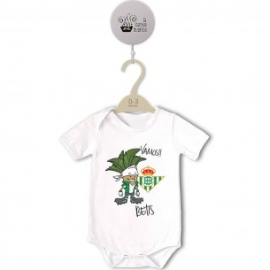 Body original para Bebé, Vamos Betis