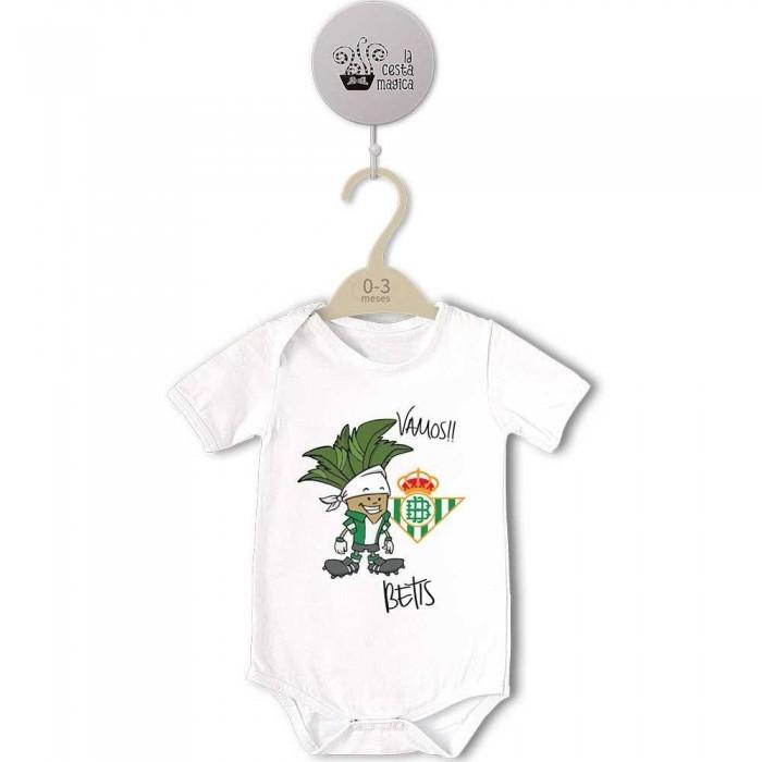Body original para Bebé, Vamos Betis  Bodys Originales - La Cesta Mágica