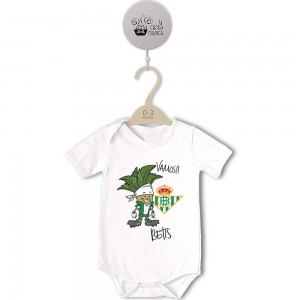 Body para Bebé, Vamos Betis  bodys - La Cesta Mágica
