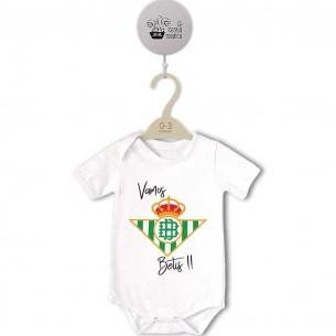 Body original para Bebé, Escudo Vamos Betis