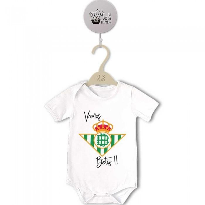Body para Bebé, Escudo Vamos Betis  bodys - La Cesta Mágica