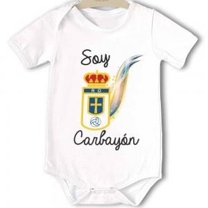 Body original para Bebé, Real Oviedo Carbayón  Bodys Originales - La Cesta Mágica