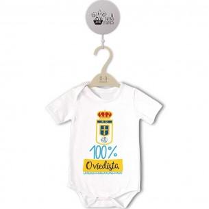 Body original para Bebé, Real Oviedo - 100% Oviedista