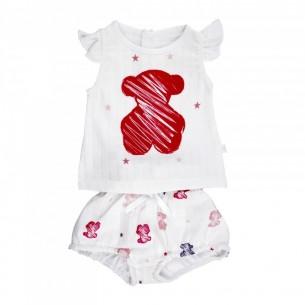 Conjunto Muselina Wear Baby Tous Niña