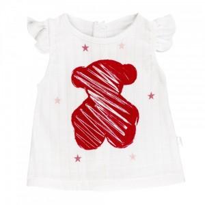 Conjunto Muselina Wear Baby Tous Niña  Ropa Bebé - La Cesta Mágica