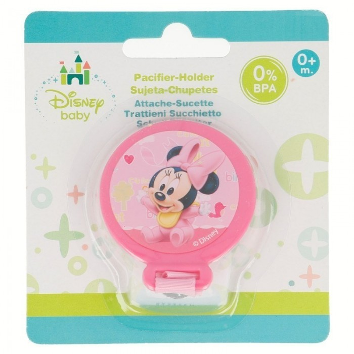 Sujeta Chupetes Minnie Disney