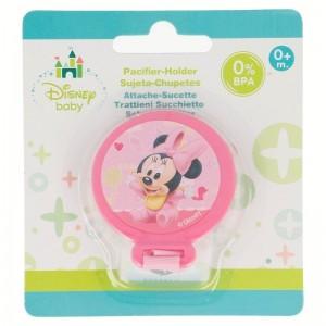 Sujeta Chupetes Minnie Disney  Alimentacion y Lactancia - La Cesta Mágica