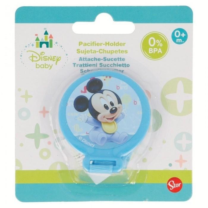 Sujeta Chupetes Mickey Disney  Alimentacion y Lactancia - La Cesta Mágica